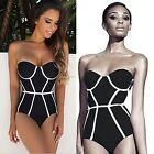 New Fashion Stylish Women Sexy One-Piece Bikini Push Up Padded Swimwear B20E01