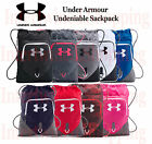 Under Armour Backpack UA Undeniable Sackpack 1261954 Sternum Clip All Colors