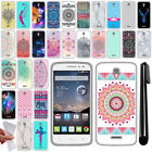 For Alcatel OneTouch POP Astro 5042N TPU SILICONE Protective Case Cover + Pen