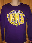 NWT NFL Boys MINNESOTA VIKINGS Long Sleeve Shirt, Antique Look, Cotton  $22.00