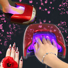 48W LED Light UV Nail Dryer Gel Nail Polish Lamp Both for Hands and Feet US