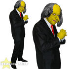 ADULTS YELLOW EVIL BOSS TV / FILM CHARACTER FANCY DRESS COSTUME