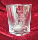 HMS SHIPS BADGES HAND ENGRAVED ON MIXER GLASS ROYAL NAVY FLEET AUXILLARY SUBS