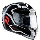 HJC RPha 10 Plus Aquilo Black White Full Face Motorcycle Crash Helmet RRP £350