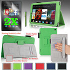 "Smart PU Leather Case Cover Stand For 2014 Amazon Kindle Fire HD 7"" +Accessories"