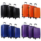 Merax Artemis 3 Piece Hardshell Spinner Travel Luggage Set Travel Suitcase ABS