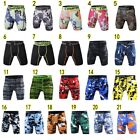 Fashion Sports Apparel Skin Tights Compression Base Men's Running Gym Shorts Lot