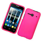 For Alcatel One Touch Evolve 2 Hard Snap-On Rubberized Phone Skin Case Cover