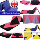 10FT Four Soft Thick Folding Panel Gymnastics Mats Thick Exercise Fitness Physio