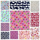 SALE only £4.99m 100% COTTON CHILDREN'S  FABRIC - CLEARANCE ALL STOCK MUST GO