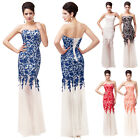 Mermaid Lace Cocktail Mermaid Ball Gowns Formal Evening party Prom Dress 6~20