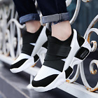 New Men sport sneakers breathable platform casual driving shoes loafers