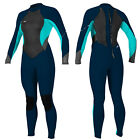 2017 O'Neill Bahia 3/2mm Womens Full Summer Wetsuit Slate Aqua