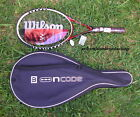 New Wilson Ncode NW 6 W6 Wild Crimson tennis racket  with case unstrung