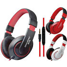 3.5mm Jack Stereo Headband Headsets Headphones Earphone For MP3 PS4 PC Phone US
