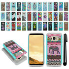For Samsung Galaxy S8+ Plus G955 Hybrid Bumper Shock Proof Case Cover + Pen