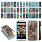 For HTC Desire 626 626S Hybrid Bumper Shockproof Hard TPU Case Cover + Pen