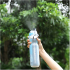 Sport Bottle Water Double Wall Mist Spray Water Bottle Cycling Outdoor Cup New
