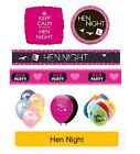 HEN NIGHT / HEN Party Party Banners, Balloons, Decorations, Foil balloons
