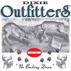 "Dixie Outfitters Deer Hunting"" NO BACKING DOWN "" 50/50 Gildan/Jerzees T SHIRT"