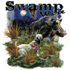 "Dixie Rebel Southern "" SWAMP WISE BOAR "" T SHIRT"