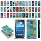 For Samsung Galaxy S4 Active I537 Hybrid Bumper Shockproof Case Cover + Pen