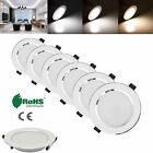 Dimmable LED 3W 5W 7W 9W 12W 15W 18W Recessed Ceiling Downlight Panel Light Cree