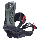 2017 NIB MENS RIDE CAPO SNOWBOARD BINDINGS $330 Olive lightweight aluminum