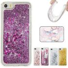 Hearts Glitter Dynamic Liquid Quicksand Flowing Bling Case Cover For Cell Phones
