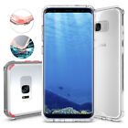 For Samsung Galaxy S8+ Plus Naked Tough Hybrid Bumper Case Cover [VUP]