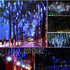 LED Meteor Shower Falling Rain Drop Xmas Tree Wedding Party String Lights Decor