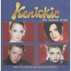 KENICKIE In Your Car CD UK Emi 1996 3 Track Part 1 With Prints B/w Can Take U 2