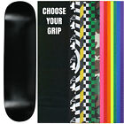 "Skateboard Deck Pro 7-Ply Canadian Maple DIP BLACK With Griptape 7.5"" - 8.5"""