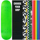 "Skateboard Deck Pro 7-Ply Canadian Maple NEON GREEN With Griptape 7.5"" - 8.5"""
