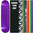 "Skateboard Deck Pro 7-Ply Canadian Maple STAINED PURPLE With Griptape 7.5"" - 8.5"