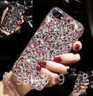 Fashion Girl's Bling Diamond Crystal Rhinestone Hard Cover Case For Cell Phones