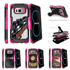 For Samsung Galaxy S8 G950 (2017) Clip Stand Pink Case Sniper