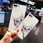 Soft TPU Relief Case For Iphone 7 7 Plus 5 SE 6 6S 6P Gel 3D Silicone Cover Cat