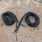 """2 X PAIRS COMBAT BOOT LACES BLACK or BROWN strong round type long 71""""/180cm army"""