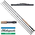 Shakespeare Sigma Supra Fly Fishing Rod Carbon + Case - Trout / Salmon- NEW 2017
