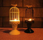 Creative Vintage Birdcage Pillar Candle Holder Wedding Home/Garden For Gifts NEW
