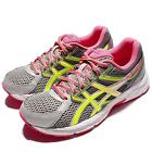 Asics Gel-Contend 3 Grey Yellow Pink Women Running Shoes Sneakers T5F9N-9607