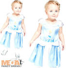 Princess Cinderella Infants Fancy Dress Disney Fairytale Girls Toddlers Costume