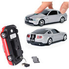 Road Mice Wireless USB Optical Mouse 2.4Ghz Ford Mustang GT for PC or MAC