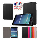 Slim Ultra Leather Stand Case Cover For Samsung Galaxy Tab E 9.6 Inch SM-T560 US