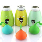 Kids 260ml Vacuum Flasks CuteWater Hyacinth Bottle Vacuum Thermal Cup Beauty