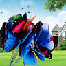 20PCS Ornament Butterfly On Sticks Outdoor Party Decor Garden Plant Lawn Art