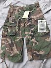 Miltec Pre Washed Air Combat 3/4 Shorts Woodland Camo