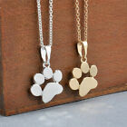 Women Cute Pets Dogs Footprints Cat Paw Pendant Chain Necklace Jewelry HF