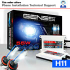 55W H11 HID Kit Headlight Bulbs White Blue Xenon Conversion Light Aftermarket $39.98 USD on eBay